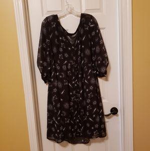 Size 3 Torrid Astrology dress